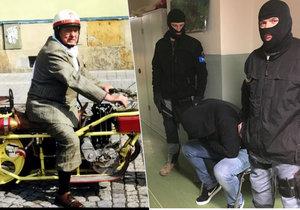 Uprchlí útočníci z Horusic před soudem patrně nestanou: Zmizeli na Ukrajině, tvrdí policie.