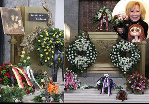 Poslední rozloučení s Máničkou Helenou Štáchovou