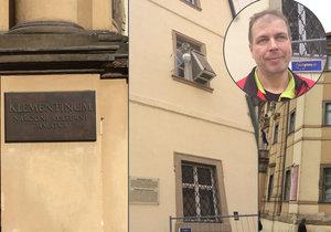 Meteorologická stanice v Klementinu je nejstarší v Evropě.