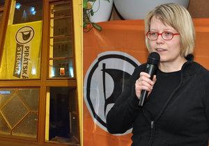 Náměstkyně primátorky Petra Kolínská zachránila opoziční Piráty před vykradením.