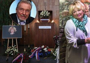 Gott nedorazil na pohřeb Špinarové: Složil jí hold z domova!