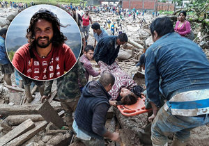 Tragické sesuvy půdy si v Kolumbii vyžádaly přes 200 životů. V místech byl i Čech Marek Jelínek.