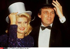 Ivana Trump a Donald Trump