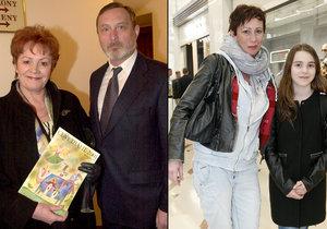 Vnučka Ladislava Freje a Věry Galatíkové Rachel je podobná babičce.