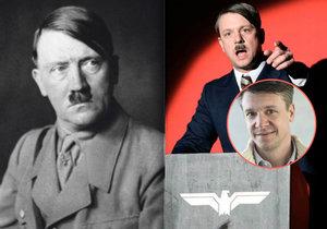 Ondřej Kavan si zahrál Adolfa Hitlera.
