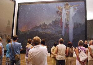 Devět z 20 pláten Slovanské epopeje se od května představí v pavilonu H brněnského výstaviště v rámci výstavy Re:publika 1918-2018.