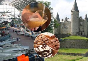 Země piva a čokolády zve na návštěvu: 10 tipů, kam se vydat v Belgii.