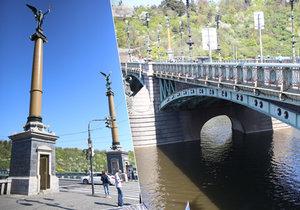 Čechův most pomáhal stavět sám císař.