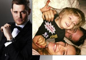 Michael Bublé a jeho žena trpěli při léčbě rakoviny jejich syna Noaha.