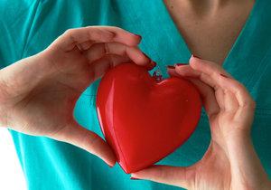 Naše srdce je náchylné k řadě nemocí.