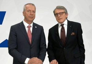 Antonín Fryč a Petr Robejšek na novém volebním videu Realistů