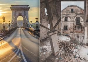 V železárnách v Drnavě vznikal i první most přes Dunaj v Budapešti. Dnes je budova opuštěná a chátrá.