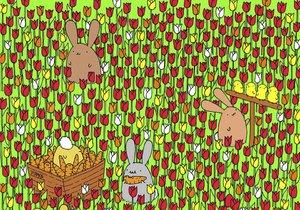 Vtipná hádanka: Dokážete najít vajíčko?