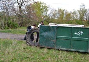 Obyvatelé Horních Počernic mají možnost vyhodit přebytečné věci nebo bioodpad. (ilustrační foto)