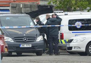 V Holešovicích se zřejmě zastřelil strážník městské policie.