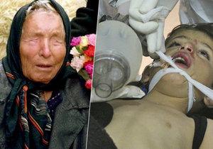 Vanga prý předpověděla chemický útok v Sýrii.