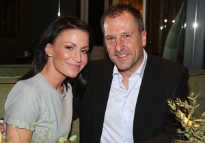 Gabriela Partyšová s manželem Danielem Farnbauerem