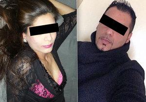 Vražda na Kroměřížsku, muž ubodal svoji přítelkyni.