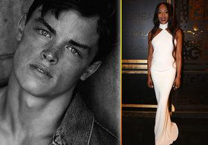 Zemřel mladý model, který se proslavil po boku Naomi Campbell.