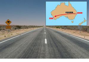 Chlapec se vydal napříč Austrálií, chytili ho u města Broken Hill.