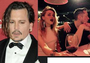 Bývalka Johnnyho Deppa randí se zakladatelem Tesly Elonem Muskem.