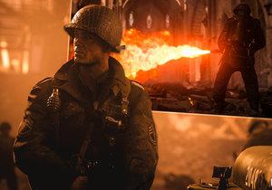 Záběry z videohry Call of Duty WWII
