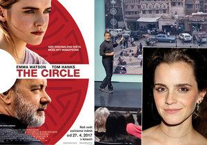 The Circle • Herečka Emma Watson už dávno vystoupila ze stínu své dětské role Hermiony v sérii příběhů o kouzelnickém učni Harry Potterovi.
