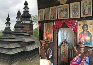 Kostel sv. Michala stojí v Kinského zahradě na úbočí Petřína od roku 1929. Vezli ho sem po kusech stovky kilometrů.