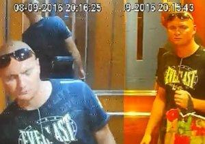 Muž ukradl z výtahu čtyři kamery. Neznáte ho?