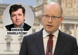 Komentátor Reflexu Bohumil Pečinka komentuje demisi premiéra Sobotky.