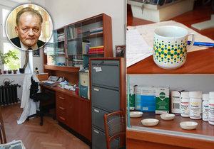 Toto je pracovna nejvýznamnějšího českého vědce Antonína Holého (†75). Tento génius objevil léky, které zachránily miliony životů.