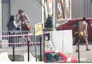 Zcela nahý muž si vyšel nakoupit do supermarketu. Neřešil, že má penis venku.