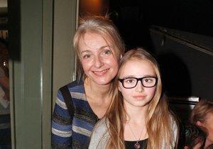 Veronika Žilková s dcerou Kordulou, která se jí narodila také po čtyřicítce.