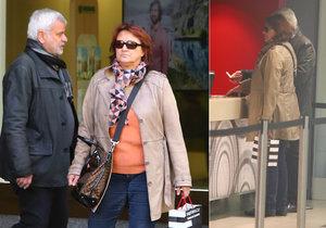 Zlata Adamovská s Petrem Štěpánkem vyrazili na rande do kina.