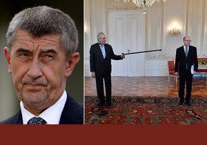 Mocenský pakt? Bohuslav Sobotka mluví o silném spojenectví Miloše Zemana a Andreje Babiše.