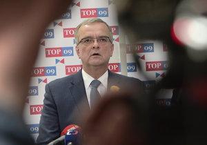 Miroslav Kalousek ve Sněmovně (11. května 2017)