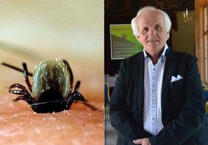 Josef Mohyla (67) se kvůli klíštěti ocitl na pokraji života a smrti.
