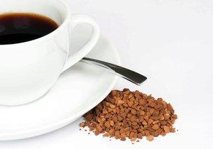 Test Blesku - instantní káva