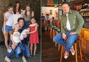 Šéfkuchař Jamie Oliver chce podstoupit vasektomii.