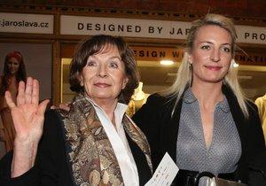 Herečka Anna Polívková s maminkou Evelynou Steimarovou