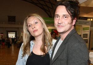 Saša Rašilov s přítelkyní