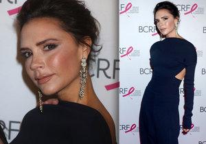 Victoria Beckham tentokrát make-up nevychytala.