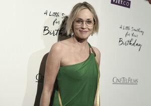 Sharon Stone přiznala, proč neměla vlastní děti.