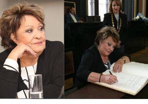Jiřina Bohdalová je čestná občanka Prahy.
