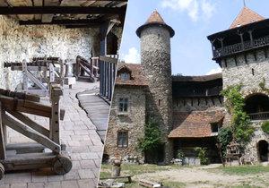 Nový hrad u Blanska: Vysvoboďte zakletou pannu!