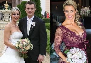 Monika Marešová chce vydražit své svatební šaty na dobrou věc.