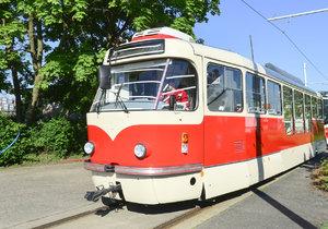 Modernizovaná tramvaj T3.