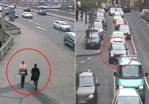 Po dvojici kolemjdoucích po Jiráskově mostě stříleli z šedočerného BMW airsoftovou zbraní. Policie po posádce z auta pátrá.