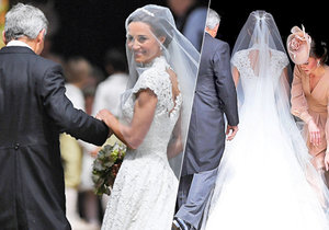 Pippa řekla své «ANO» v krajkových šatech za milion! Co o nich prozradil návrhář?