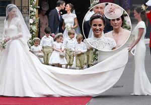 Pohádka o princezně a chůvě: Pippa vyhrála nad Kate 2:0!